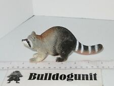 Raccoon Figure Animal Figurine Plastic PVC Toy