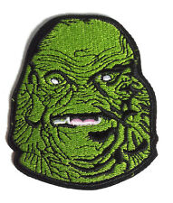 """Creature From the Black Lagoon 3.5"""" Green Head Patch- Mailed from USA (UMPA-CBL)"""