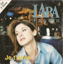 CD SINGLE 2 TITRES--LARA FABIAN--JE T'AIME--1997