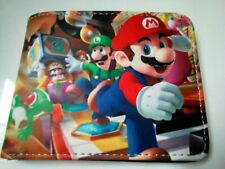Paper Mario cool  wallet with coin zip.. Free P&P /ii/.