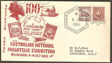 1950 ANPEX Australia Philatelic Exhibition to W.P. Sher (ELECTRIC POWER TOOLS)