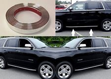 Mirror Chrome Running Board Trim For 2015-2017 Chevrolet Tahoe New Free Shipping