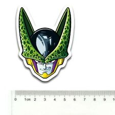 Quality Dragon Ball Z Cell Head Final Perfect Form Vinyl Sticker PVC Decal Phone