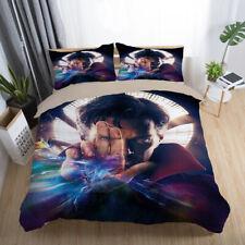 Doctor Strange 3PCS Bedding Set Duvet Cover Pillowcases Comforter Cover Set