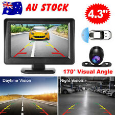 "4.3"" Car Rear View Kit TFT LCD Monitor +HD IR Night Vision Reversing Camera 170°"