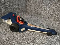 """Vintage 1980 Fisher Price Drag Race Car Dragster Toy 333 12"""" FULLY WORKING"""