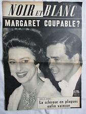 NOIR ET BLANC 893 AVRIL 1962 MARGARET COUPABLE ?