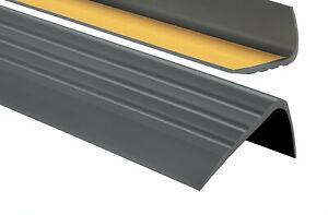 PVC Treppenkantenprofil Selbstklebend Winkelprofil 65x40mm Treppenkante 80-200cm