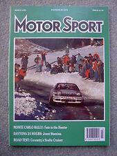 Motor Sport (March 1991) Jaguar XJ6 3.2, Vauxhall Lotus,Alfa 164, Jowett Jupiter
