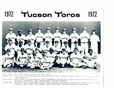1972 TUCSON TOROS 8X10 TEAM PHOTO PCL CHICAGO WHITE SOX  BASEBALL USA ARIZONA