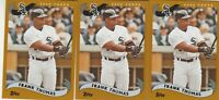 2020 Topps Archives Frank Thomas 2002 Base 3 Card Lot Chicago White Sox