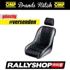 OMP Brands Hatch Classic Sportsitz  Schwarz Automobile Kunstleder Vintage