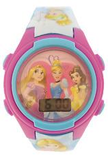 Girls Kids Pink Disney Princess Digital Watch In Presentation Tin/Moneybox 56405