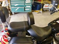 Honda Shadow Aero 750 2004-up Motorcycle Driver Backrest Quick Release