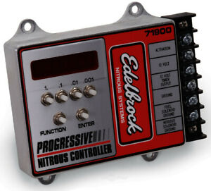 RATED #1 *MADE IN USA! *NEW EDELBROCK PROGRESSIVE NITROUS CONTROLLER PART #71900