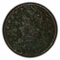 1810 1c Classic Head Large Cent - Sharp Full Date - SKU-Y2283