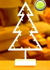 LED Dekoleuchte Tanne warmweiß Weihnachtsbaum Lichterbaum Weihnachtsdeko 39 cm