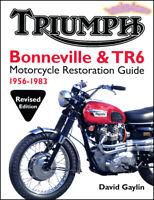 TRIUMPH BONNEVILLE TR6 RESTORATION GUIDE BOOK GAYLIN REFERENCE MANUAL