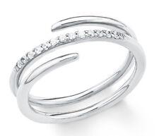 s.Oliver 2018613 Damen Ring 925 Silber mit weißen Steinen neu