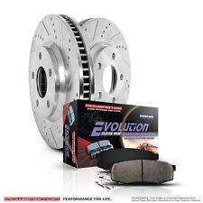 Power Stop Brake Rotor Pads K1203 Mitsubishi Chrysler Dodge Sebring Stratus Rear