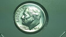 1964-P Proof Roosevelt Dime 90% Silver Double Die Obverse & Reverse Error Coin
