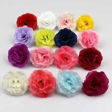100Pcs Artificial Fake Small Rose Silk Flower Head DIY Wedding Party Home Decor