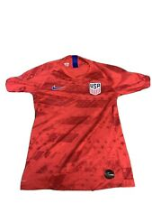 Nike Usa Red Vaporknit Home Soccer Jersey Mens Size S Preowned Retail $165