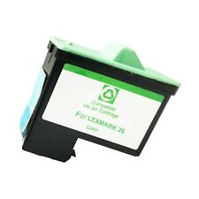 1 COLOR LXM 26 Ink Cartridge for Lexmark i3 X1110 1130 1150 1185 1190 1240 1270