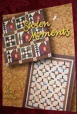Stolen Moments Quilt Pattern Soft Cover Book by Mimi Shimp (1998) Bk# 30103