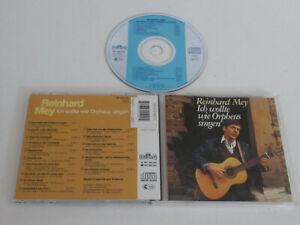 Reinhard Mey – Ich Wollte Come Orpheus Cantare/Intercord – Int 835.030 CD