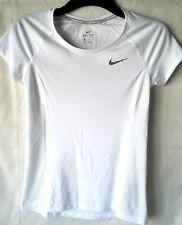 Nike Racer Camiseta Manga Corta para Hombre Correr Rendimiento Talla XS Blanco R663-9