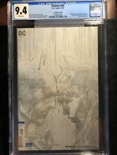 Batman #50 CGC 9.4 Jim Lee Sketch Cover Batman Catwoman Wedding 1:100 Great copy