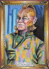 Star Trek Voyager Heroes & Villains Sketch Card by Achilleas Kokkinakis