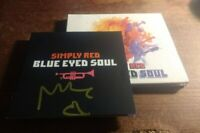 Simply Red - Blue Eyed Soul CD *SIGNED / AUTOGRAPHED by Mick Hucknall