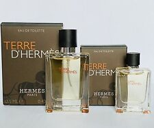 2 Terre D'Hermes Mini EDT  Perfume 5 ml & 12.5 ml Free Shipping