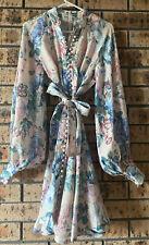 Floral Linen Dress  Size 1