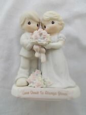 """Precious Moments """"Love Vows To Always Bloom"""" 7"""" Figurine 129097 1995"""