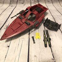 Vtg GI Joe Cobra Moray Hydrofoil Incomplete Loose Vehicle Hasbro 1985 Ship Boat