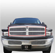 DODGE 1999 2000 2001 RAM 1500 2500 3500 POLISHED FRONT UPPER BILLET GRILLE GRILL