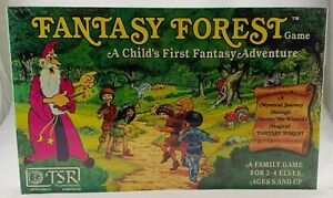 1980 Fantasy Forest Game by TSR Brand New Sealed Rare FREE SHIPPING