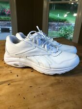 REEBOK NEW DMX MAX PLAY DRY WHITE WALKING RUNNING SHOES MENS SIZE 14 2E