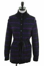 CHAPS Womens Cardigan Sweater Size 12 Medium Multi Cotton  JC53