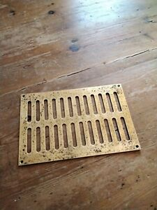 Brass Air Vent Grill