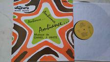 LIBRARY ALLSTARS MOOD MUSIC DANIEL J. WHITE Ambiance *HORROR + BREAKS* 60s LP