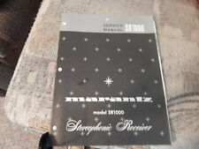 MARANTZ SR1000. Service Manual Original Paper