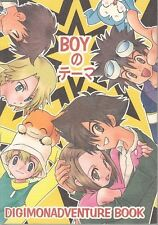 "Digimon Adventure Doujinshi "" BOY no Theme "" Daisuke Takeru Ken"