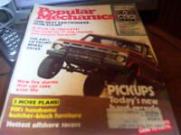 Popular Mechanics Dec 1976 Pickups Today's New Hard-
