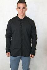 chemise homme noire MARITHE FRANCOIS GIRBAUD taille 48 (XL) NEUVE ETIQUETTE