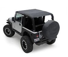 Smittybilt Extended Top 92-95 Jeep Wrangler YJ 92915 Black Denim