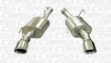 Corsa Axle-Back Xtreme Exhaust For 05-10 Ford Mustang Shelby GT500 5.4L V8
